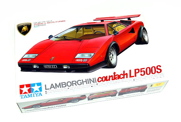 Tamiya Automotive Model 1/24 Car LAMBORGHINI LP500S Scale Hobby 24306