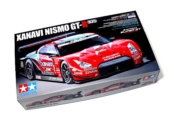 Tamiya automotive model 1 24 car nissan xanavi nismo gt r for 24308