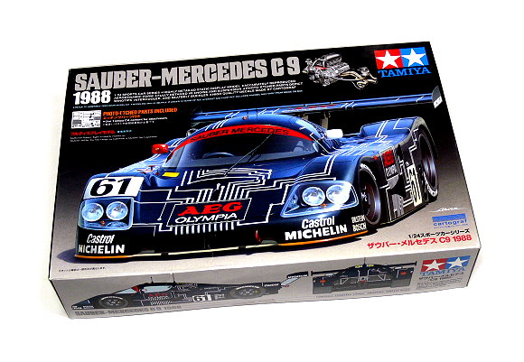 Tamiya Automotive Model 1/24 Car Sauber-Mercedes C9 Scale Hobby 24310