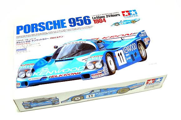 Tamiya Automotive Model 1/24 Car Porsche 956 1984 KENWOOD Scale Hobby 24314