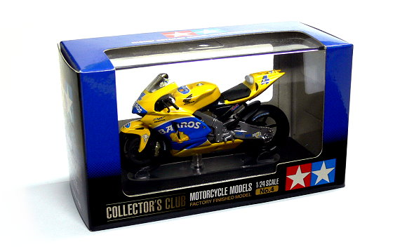 Tamiya Motorcycle Model 1/24 Motorbike Honda Pons RC211V No.4 Scale Hobby 26804