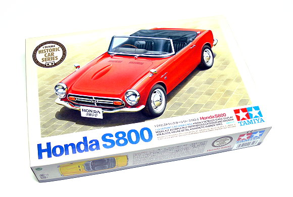 Tamiya Automotive Model 1/24 Car Honda S800 Historic Car Scale Hobby 89657