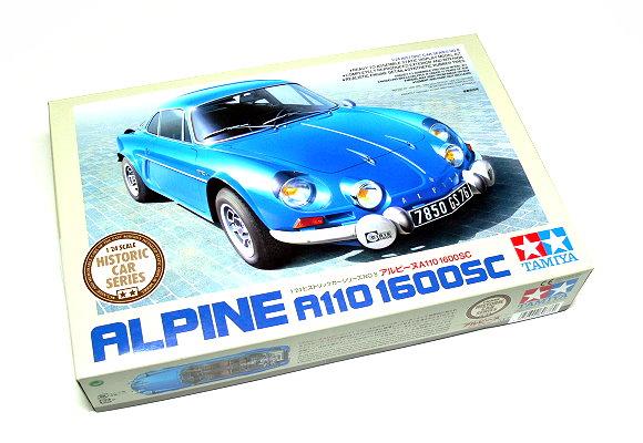 Tamiya Automotive Model 1/24 Car ALPINE A110 1600SC Scale Hobby 89676