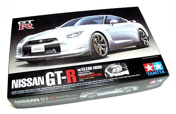 Tamiya Automotive Model 1/24 Car NISSAN GT-R Sportcar Scale Hobby 92212