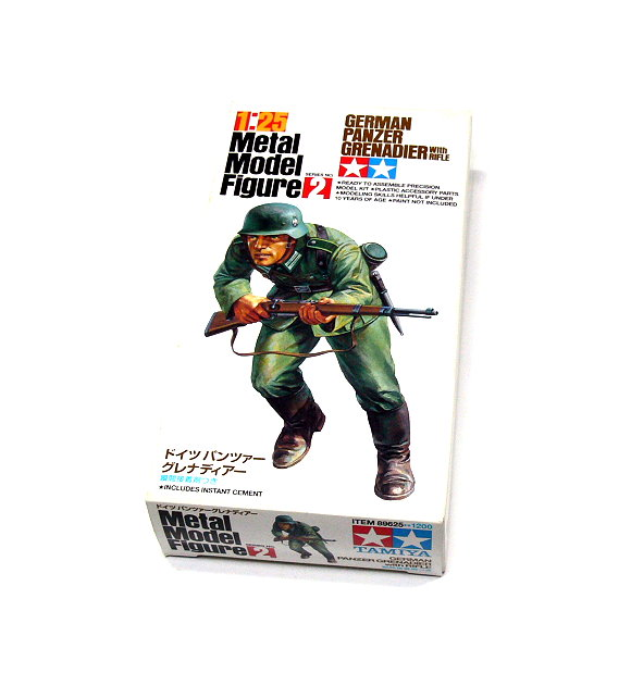 Tamiya Military Model 1/25 German Panzer Grenadier Scale Hobby 89625