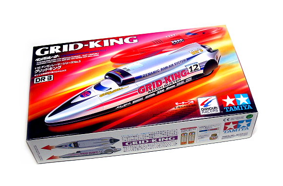 Tamiya Model Dangun Racer Series 1/32 DR 3 GRID-KING DR-3 Hobby Car 17603