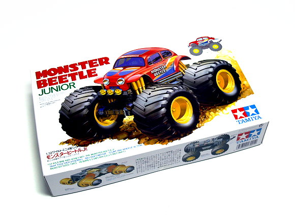 Tamiya Model Mini 4WD Racing Car 1/32 MONSTER BEETLE JUNIOR Hobby 17001