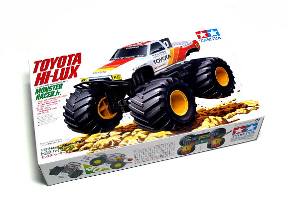 Tamiya Model Mini 4WD Racing Car 1/32 TOYOTA MONSTER RACER JR. Hobby 17009