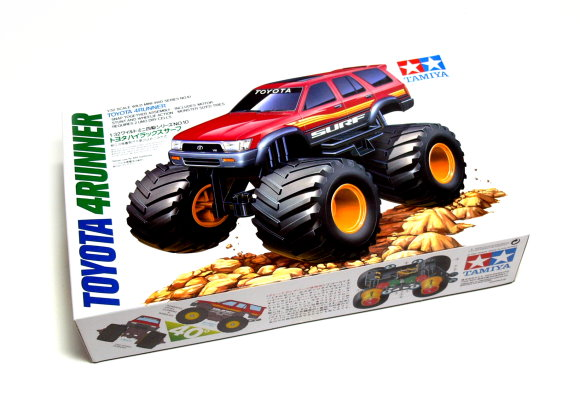 Tamiya Model Mini 4WD Racing Car 1/32 TOYOTA 4RUNNER JUNIOR Hobby 17010