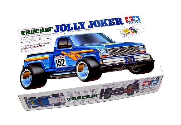 Tamiya Model Mini 4WD Racing Car 1/32 Truckin Jolly Joker Hobby 17502