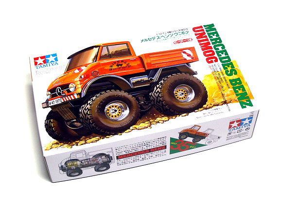 Tamiya Model Mini 4WD Racing Car 1/32 Mercedes-BenUNIMOG Hobby 19009