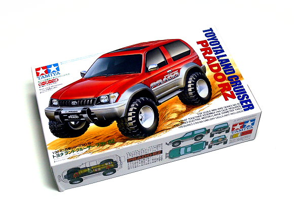 Tamiya Model Mini 4WD Racing Car 1/32 TOYOTA LAND CRUISER PRADO Hobby 19019
