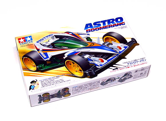Tamiya Model Mini 4WD Racing Car 1/32 ASTRO BOOMERANG Hobby 19507