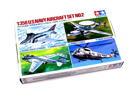 Tamiya Aircraft Model 1/350 Airplane U.S.NAVY Aircraft Set No.2 Hobby 78009