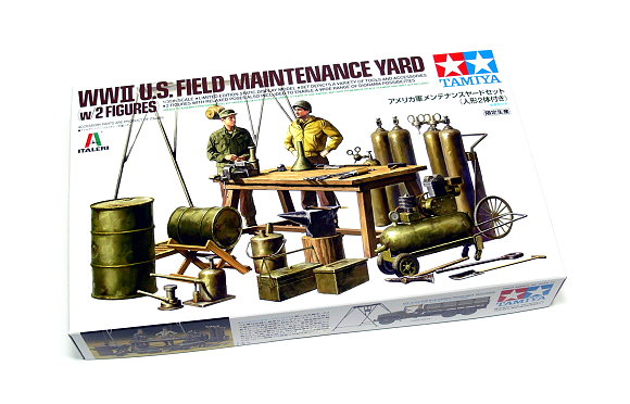 Tamiya Military Model 1/35 US Field Maintenance Yard Scale Hobby 25106