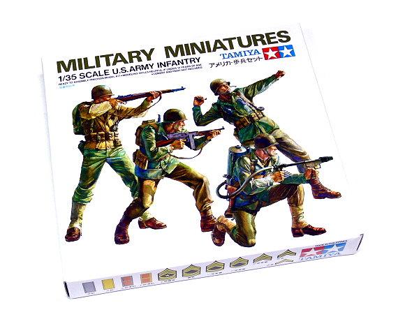 Tamiya Military Model 1/35 U.S.ARMY Infantry Model Scale Hobby 35013