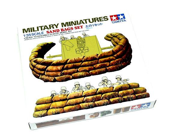 Tamiya Military Model 1/35 Miniatures Sand Bags Set Scale Hobby 35025