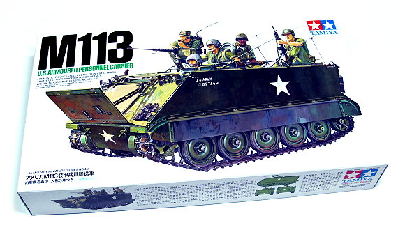 Tamiya Military Model 1/35 US Armoured Carrier M113 Scale Hobby 35040