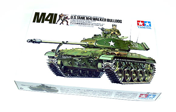 Tamiya Military Model 1/35 U.S.TANK M41 WALKER BULLDOG Scale Hobby 35055