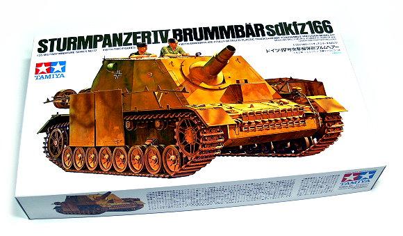 Tamiya Military Model 1/35 German STURMPANZER IV Tank Scale Hobby 35077