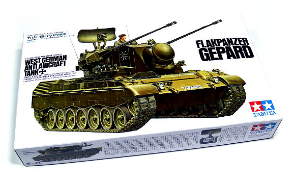 Tamiya Military Model 1/35 German FLAKPANZER GEPARD Scale Hobby 35099