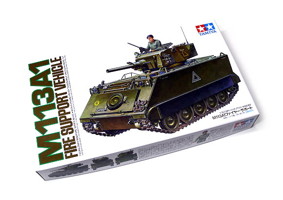 Tamiya Military Model 1/35 US M113A1 Fire Support Kit Scale Hobby 35107