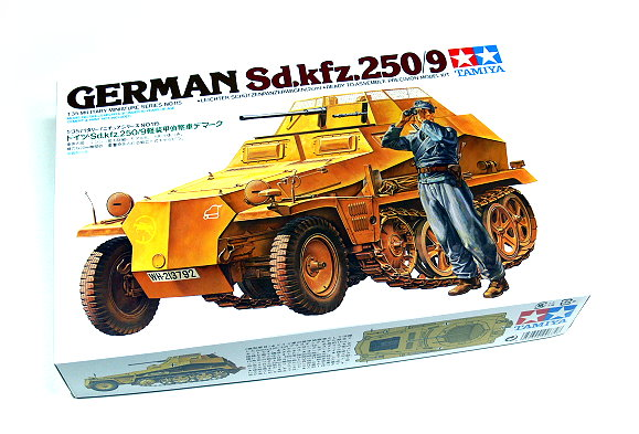 Tamiya Military Model 1/35 German Sd.kfz.250/9 Scale Hobby 35115