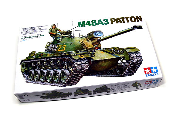 Tamiya Military Model 1/35 U.S. M48A3 Patton Scale Hobby 35120