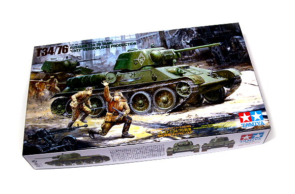 Tamiya Military Model 1/35 Russian T34/76 ChT Scale Hobby 35149