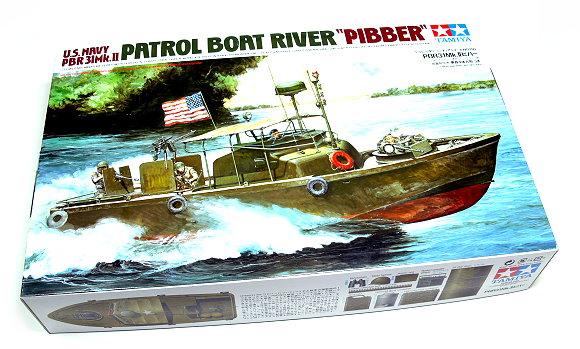 Tamiya Military Model 1/35 War Ship US Patrol Boat River PIBBER Hobby 35150