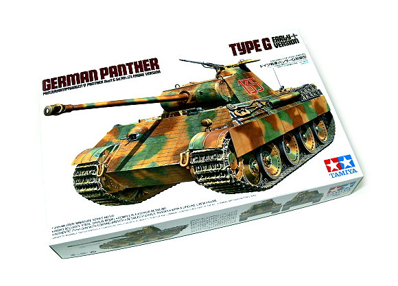Tamiya Military Model 1/35 Panther Type G Early Ver. Scale Hobby 35170