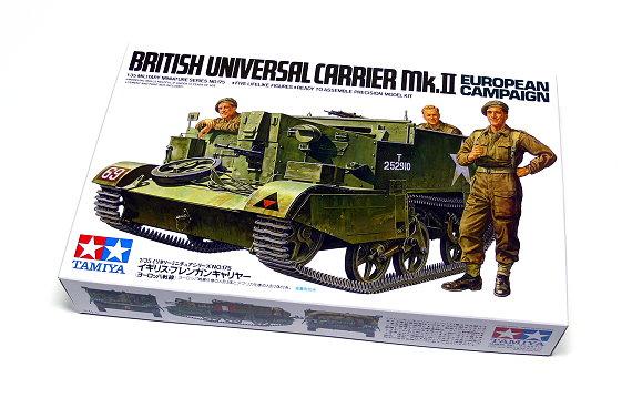 Tamiya Military Model 1/35 British Universal Carrier Scale Hobby 35175