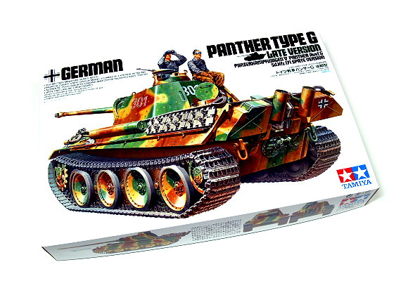 Tamiya Military Model 1/35 Panther Type G Late Ver. Scale Hobby 35176