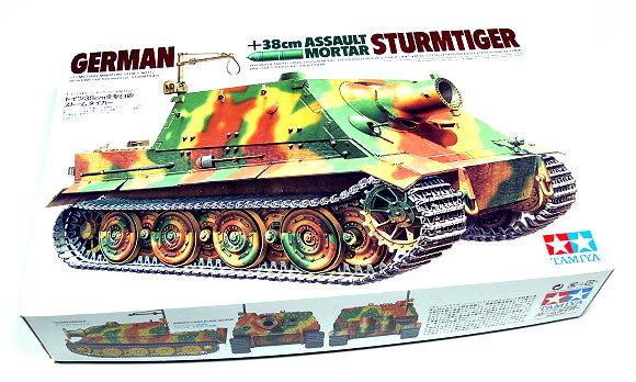 Tamiya Military Model 1/35 German 38mm STURMTIGER Scale Hobby 35177