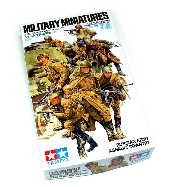 Tamiya Military Model 1/35 Russian Assault Infantry Scale Hobby 35207