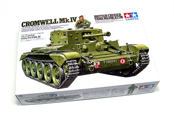 Tamiya Military Model 1/35 CROMWELL Mk.IV British Tank Scale Hobby 35221