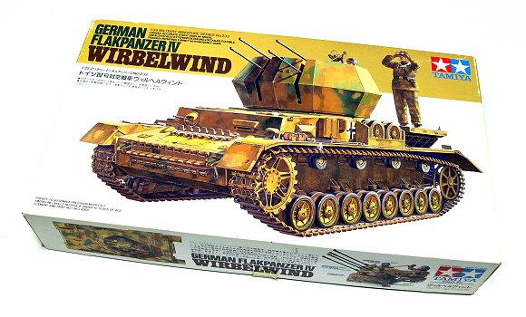 Tamiya Military Model 1/35 FLAKPANZER IV WIRBELWIND Scale Hobby 35233