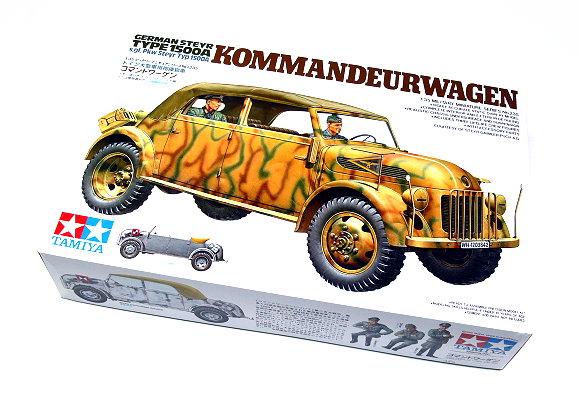 Tamiya Military Model 1/35 KOMMANDEUR-WAGEN Type 1500A Scale Hobby 35235