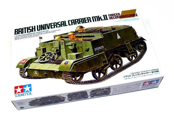 Tamiya Military Model 1/35 British Universal Carrier Scale Hobby 35249
