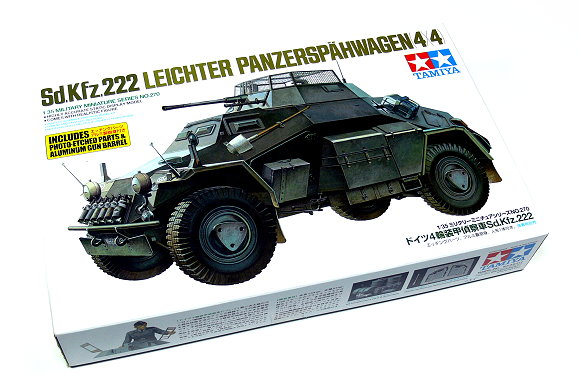 Tamiya Military Model 1/35 Sd.Kfz.222 LEICHTER Scale Hobby 35270