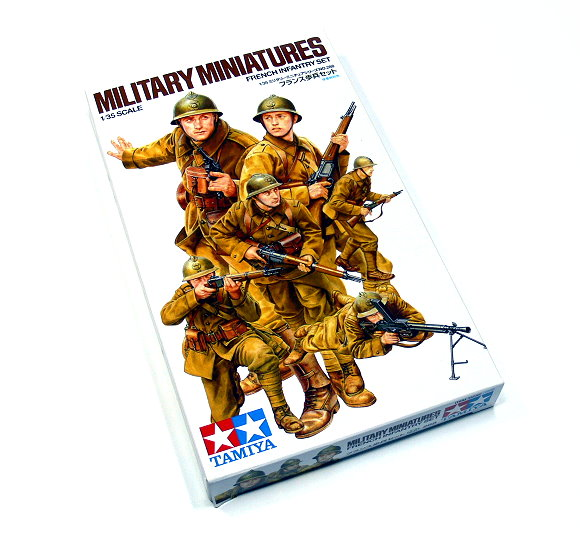 Tamiya Military Model 1/35 French Infantry Set Scale Hobby 35288