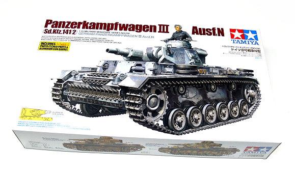 Tamiya Military Model 1/35 Panzerkampfwagen III Ausf.N Scale Hobby 35290