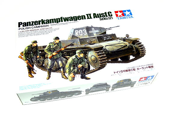 Tamiya Military Model 1/35 German Sd.Kfz.121 Tank Scale Hobby 35299