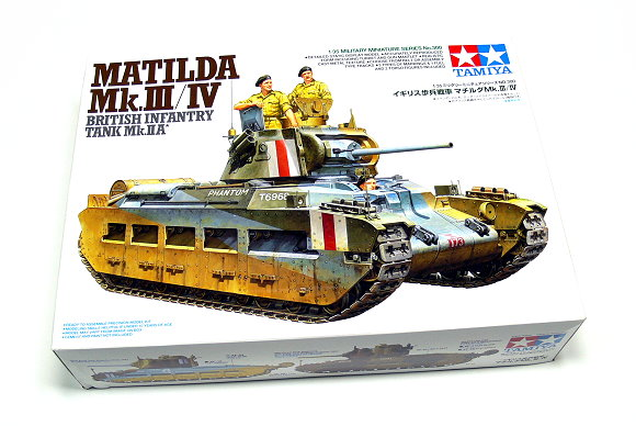 Tamiya Military Model 1/35 British Tank MATILDA Scale Hobby 35300