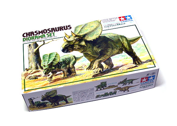 Tamiya Dinosaur Model 1/35 Diorama Set Chasmosaurus Scale Hobby 60101