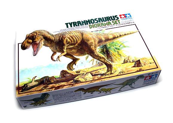 Tamiya Dinosaur Model 1/35 Diorama Set Tyrannosaurus Scale Hobby 60102