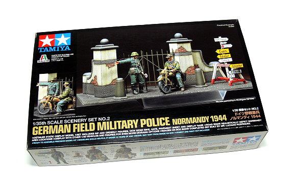 Tamiya Military Model 1/35 German Police Normandy 1944 Scale Hobby 89740