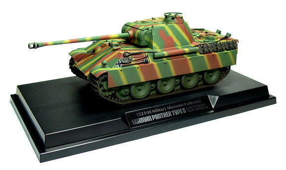 Tamiya Military Model 1/48 German Panther Type G Tank Scale Hobby 26517