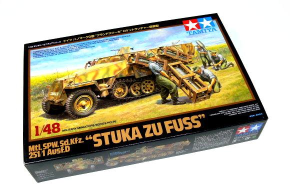 Tamiya Military Model 1/48 251/1 Ausf.D STUKA ZU FUSS Scale Hobby 32566