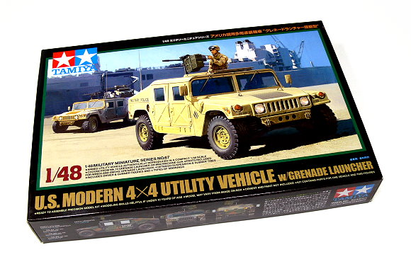 Tamiya Military Model 1/48 US Modern Utility Vehicle Scale Hobby 32567
